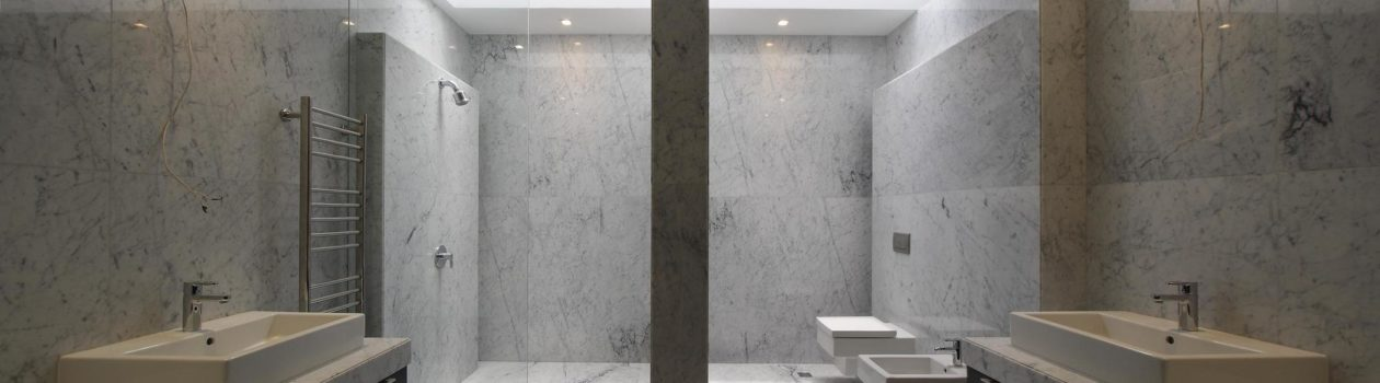 Ванная Мрамор Bianco Cararra
