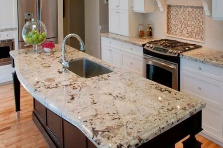 Стільниці з граніту в Києві - Купити гранітні плити для кухні, ванній