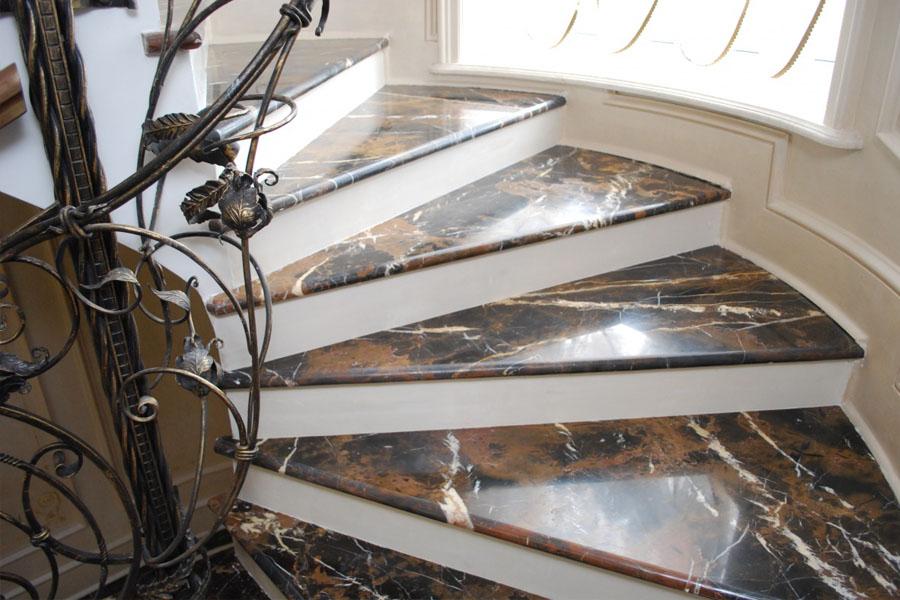 Лестницы и ступени из мрамора - купить в Киеве, цена