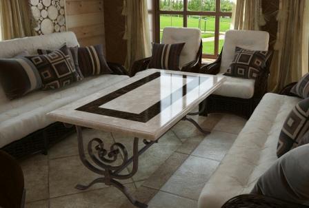 Мраморные столы купить в Киеве - цена на стол из мрамора