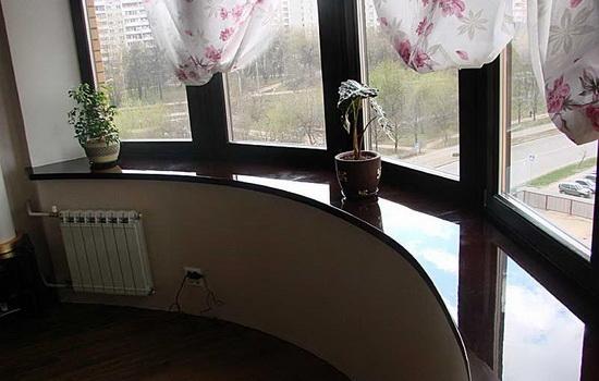 Гранитный подоконник - как выбрать для интерьера дома или квартиры