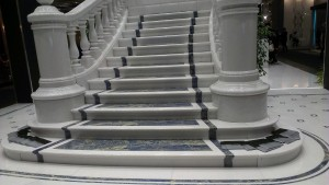 Лестницы из мрамора №1