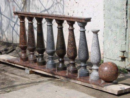 Гранитные плиты в Киеве - купить гранитные балясины, цена