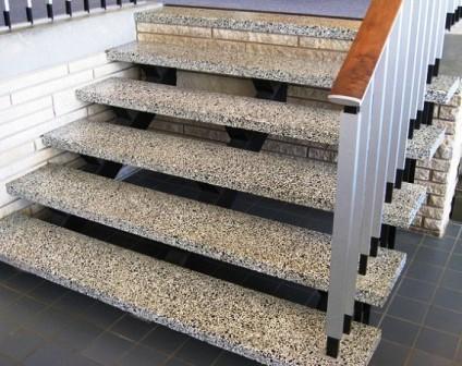 Лестницы из гранита, цены на ступени из гранита | Купить степени из камня